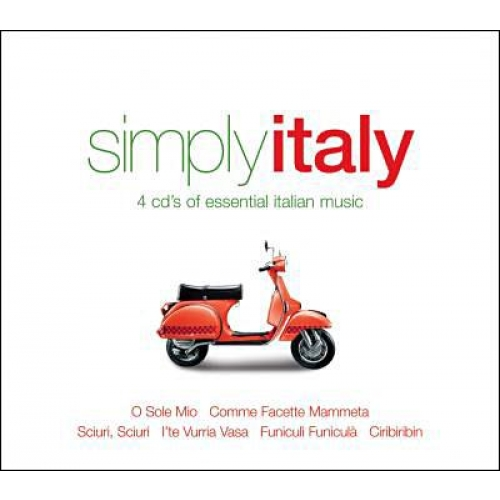 Coffret 4 CD - Simply Italy