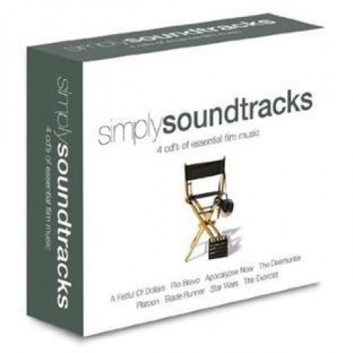 Coffret 4 CD - Simply Soundtracks