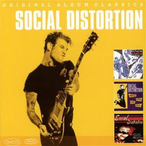 Social Distortion : Somehere Between Heaven And Hell - White Light, White Heat