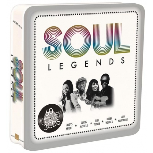 Métal Box 3 CD - « Soul Legends »