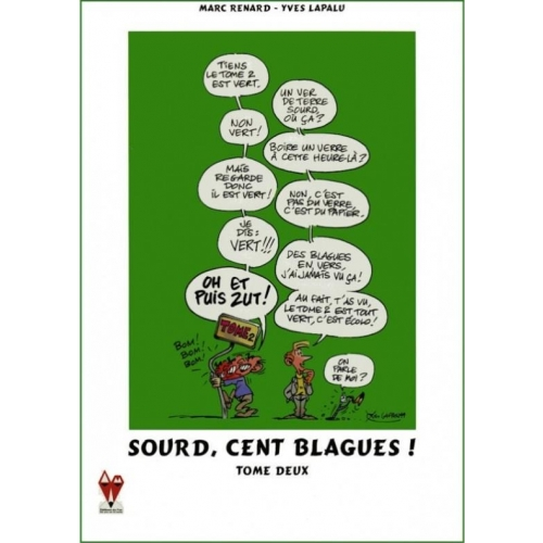 Sourd, cent blagues ! - Tome 2