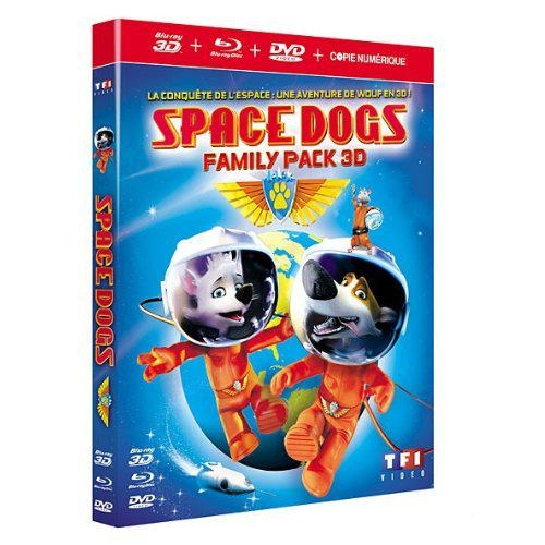 SPACE DOGS FAMILY PACK 3D