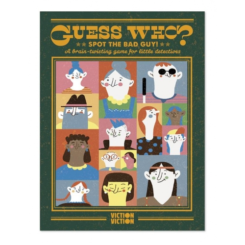 Spot the bad guys! A brain-twisting game for little detectives