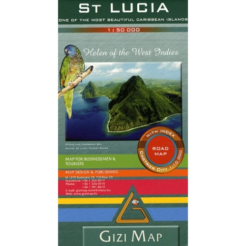 St Lucia - 1/50 000