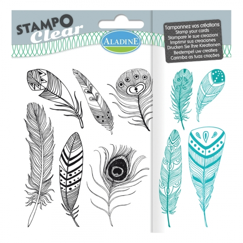 Stampo clear - Plumes