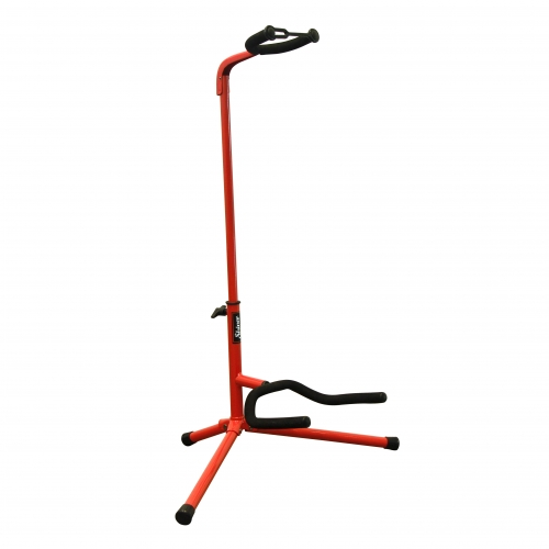 Shiver - Stand guitare col de cygne basic - Rouge
