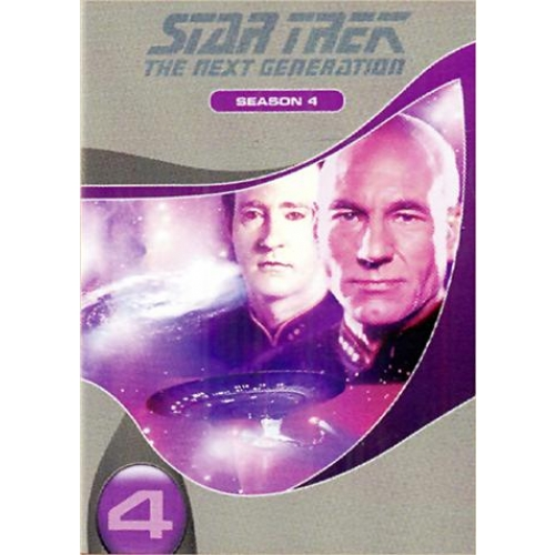 STAR TREK NEXT GENERATION SAISON 4 ON 4