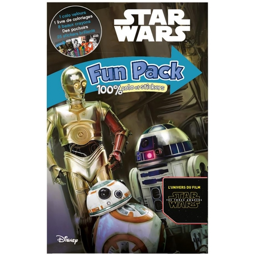 Fun Pack Star Wars - 100 % colo et stickers