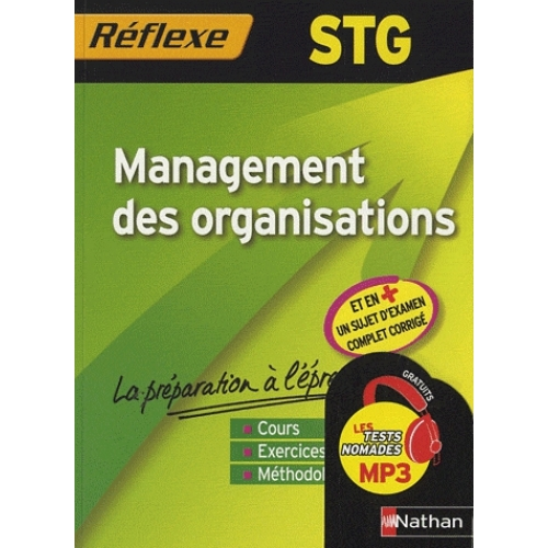 STG - Management des organisations