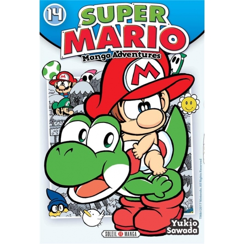 Super Mario-Manga Adventures Tome 14