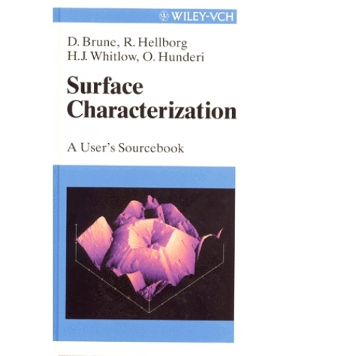 SURFACE CHARACTERIZATION. A user's sourcebook