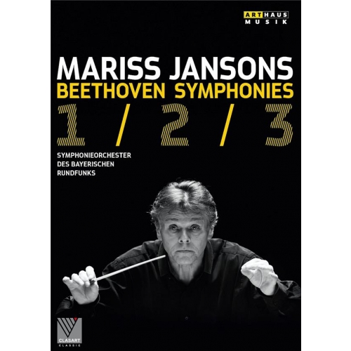 SYMPHONIES N° 1-3 + DOCUMENTAIRE : M. JANSONS REPETE BEETHOVEN