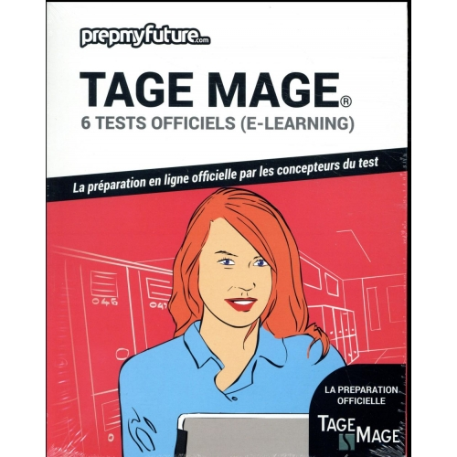 Tage mage® - 6 tests officiels (e-learning). Contient 1 clé d'activation