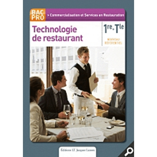 Technologie de restaurant 1e Term Bac Pro CSR