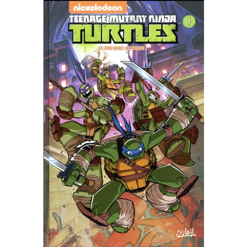 Nickelodeon Teenage Mutant Ninja Turtles Tome 1 - Le zoo-diac attaque !