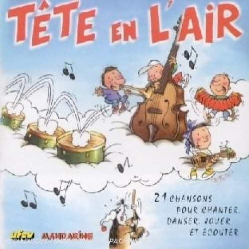Tête en l'air. CD