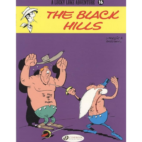 A Lucky Luke Adventure Tome 16 - The Black Hills