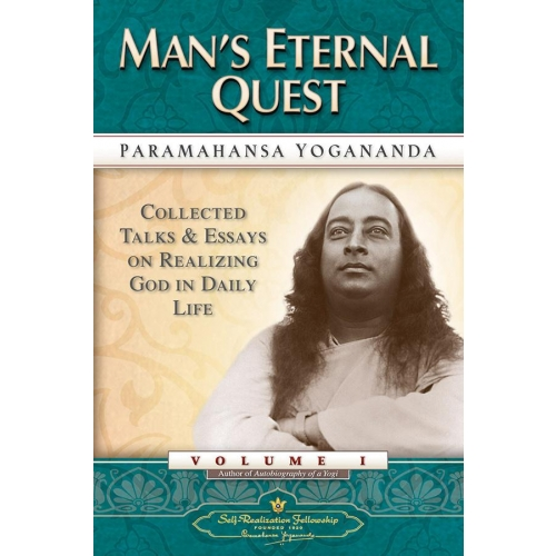 The Collected Talks And Essays - Vol 1 Man's Eternal Quest