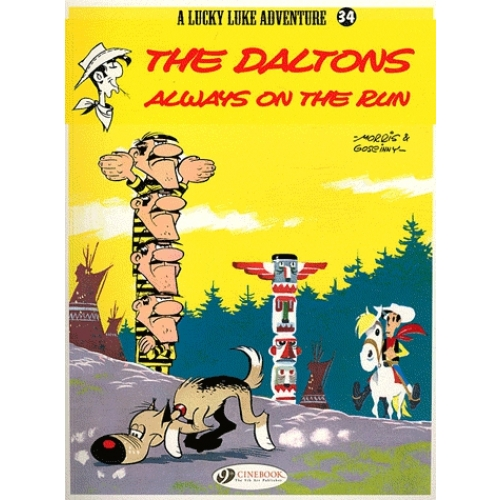 A Lucky Luke Adventure Tome 34 - The daltons always on the run