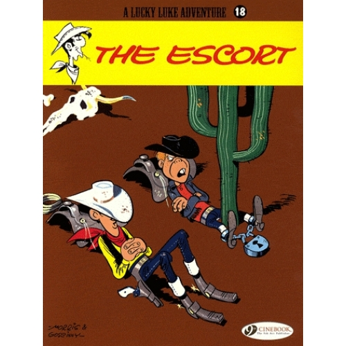A Lucky Luke Adventure Tome 18 - The escort