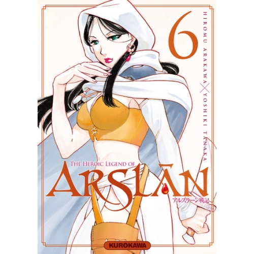 The Heroic Legend of Arslân Tome 6