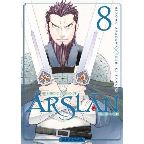 The Heroic Legend of Arslân Tome 8
