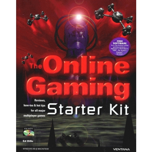 THE ONLINE GAMING STARTER KIT. Reviews, how-tos & hot tips for all major multiplayer games, avec CD-ROM, édition en anglais
