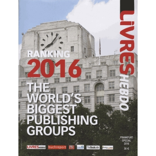 The World's Biggest Publishing Groups - Ranking 2016