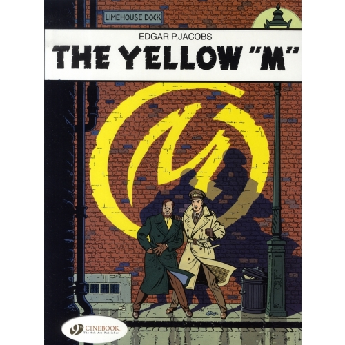"Blake & Mortimer Tome 1 - The Yellow ""M"""