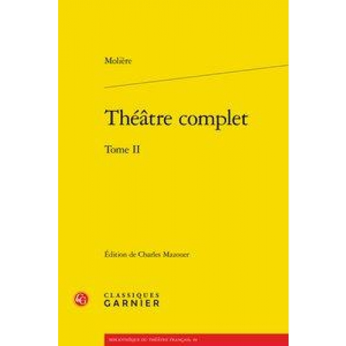 Théâtre complet - Tome II