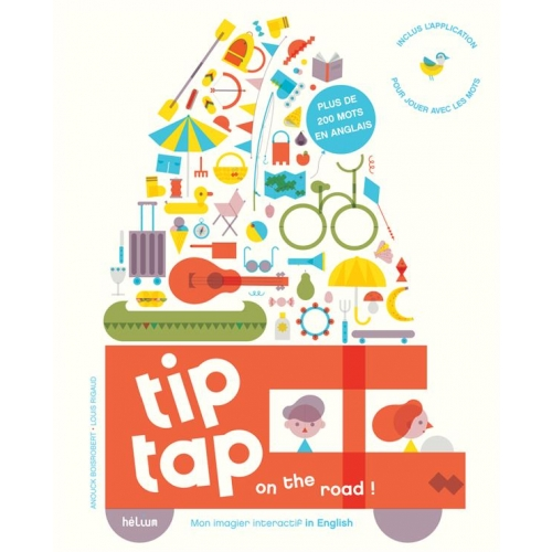 Tip tap on the road ! - Mon imagier interactif in English