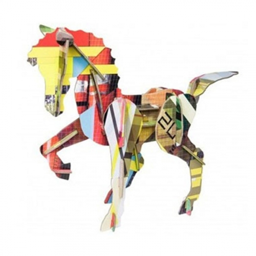 Totem cheval - A construire - Studio Roof