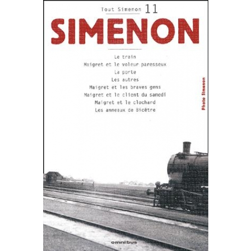 Tout Simenon Volume 11 : Le train