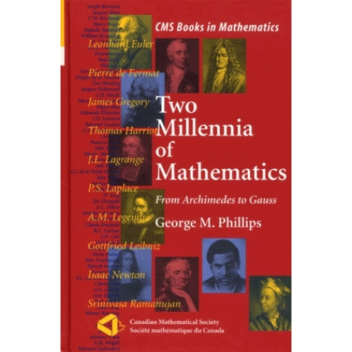 Two millennia of mathematics from Archimedes to Gauss