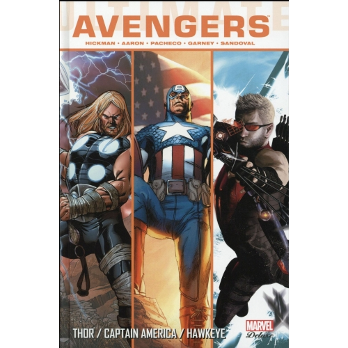 Ultimate Avengers Tome 4 - Thor / Captain America / Hawkeye