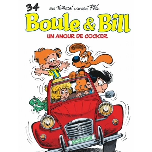 Boule & Bill Tome 34 - Un amour de cocker