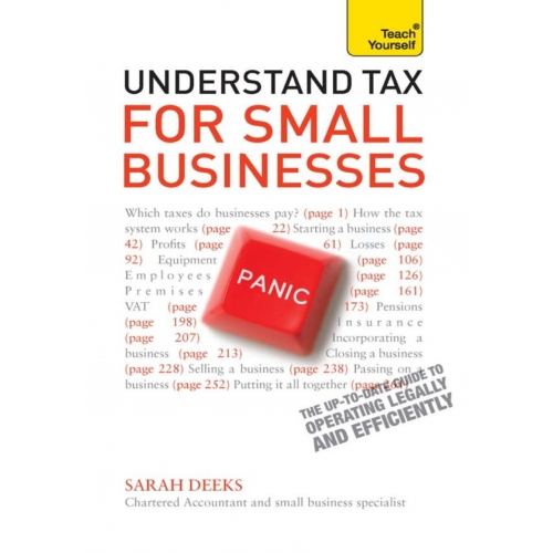 Understand Tax for Small Businesses: Teach Yourself Ebook Epub
