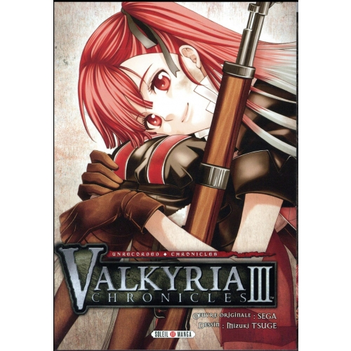 Valkyria chronicles Tome 3 - Unrecorded Chronicles