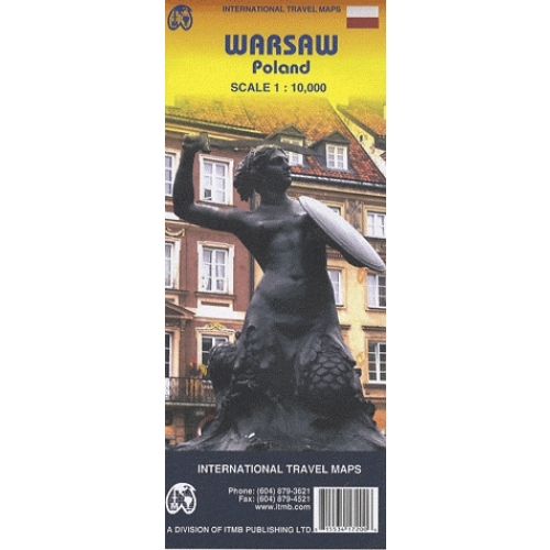 Warsaw (Varsovie) - 1/10 000
