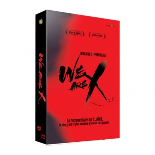 We are X - Edition collector limitée - Coffret Combo