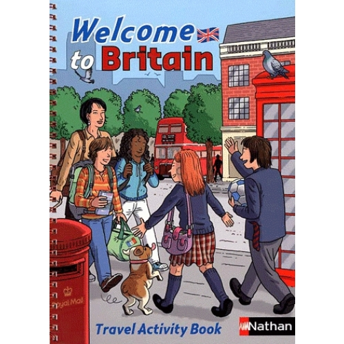 Welcome to Britain - Travel Activity Book