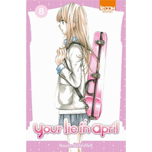 Your lie in April Tome 8