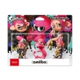 Amiibo - Triple Pack Splatoon 2 Octaling