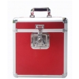 FLIGHT CASE 33T ROUGE