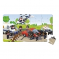 Lovely puzzles - police brice - 2 puzzles