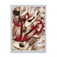 Affiche Edwards - Satin shoes - 40x50 cm