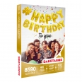 Coffret cadeau Dakotabox - Happy birthday to you