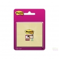 Lot de 4 Blocs de 45 «Super Sticky Notes» Post-It- 47.6x47.6 mm
