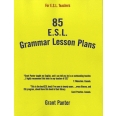 85 ESL Grammar Lesson Plans