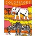 Grands coloriages - les animaux sauvages